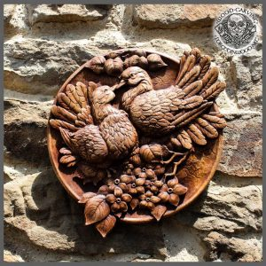 carving bird for sale