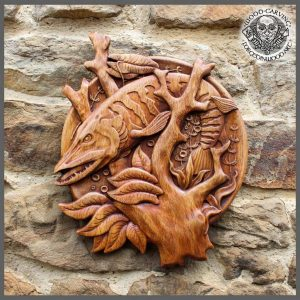 fish hand carved for sale