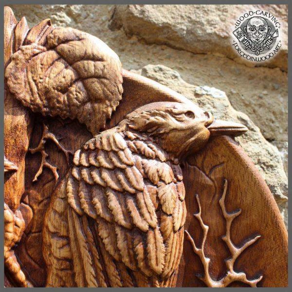 Bird wood carvings fo sale