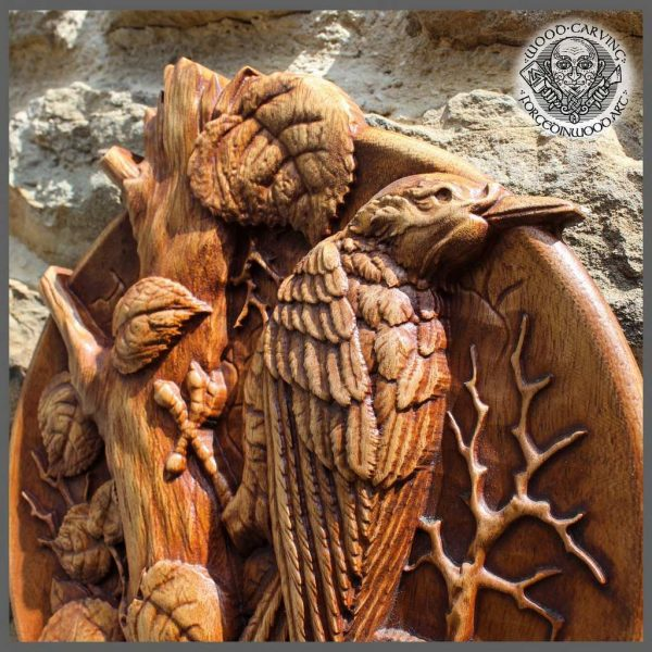 Bird Wood carving for sale